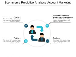 Ecommerce Predictive Analytics Account Marketing Ppt Powerpoint Presentation Icon Layouts Cpb