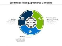 Ecommerce Pricing Agreements Monitoring Ppt Powerpoint Presentation Designs Cpb