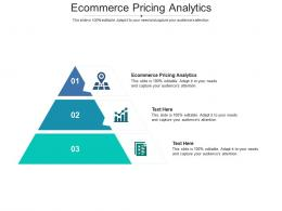 Ecommerce Pricing Analytics Ppt Powerpoint Presentation Infographic Template Rules Cpb