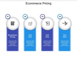 Ecommerce Pricing Ppt Powerpoint Presentation Picture Cpb