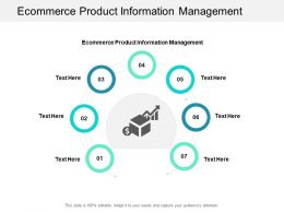 Ecommerce Product Information Management Ppt Powerpoint Presentation Portfolio Cpb