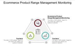 Ecommerce Product Range Management Monitoring Ppt Powerpoint Presentation Model Cpb