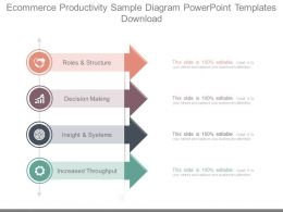 Ecommerce Productivity Sample Diagram Powerpoint Templates Download