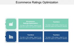 Ecommerce Ratings Optimization Ppt Powerpoint Presentation Styles Slide Cpb