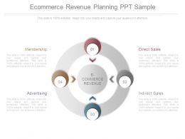 Ecommerce Revenue Planning Ppt Sample