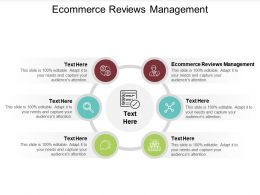 Ecommerce Reviews Management Ppt Powerpoint Presentation Ideas Inspiration Cpb