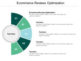 Ecommerce Reviews Optimization Ppt Powerpoint Presentation Gallery Outline Cpb