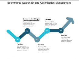 Ecommerce Search Engine Optimization Management Ppt Powerpoint Presentation Cpb