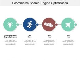 Ecommerce Search Engine Optimization Ppt Powerpoint Presentation Styles Templates Cpb