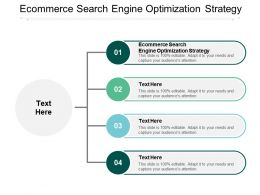 Ecommerce Search Engine Optimization Strategy Ppt Powerpoint Presentation Slides Graphics Download Cpb