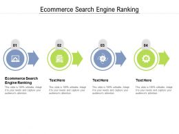 Ecommerce Search Engine Ranking Ppt Powerpoint Presentation Gallery Display Cpb
