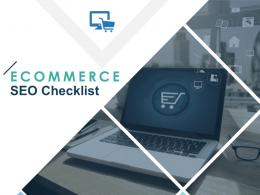 Ecommerce SEO Checklist Powerpoint Presentation Slides