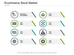 Ecommerce Stock Market Ppt Powerpoint Presentation Model Designs Download Cpb