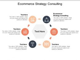 Ecommerce Strategy Consulting Ppt Powerpoint Presentation File Infographic Template Cpb