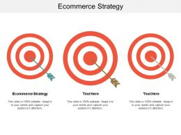 Ecommerce Strategy Ppt Powerpoint Presentation Gallery Display Cpb