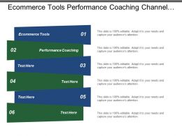 Ecommerce Tools Performance Coaching Channel Marketing Strategies Multilevel Marketing
