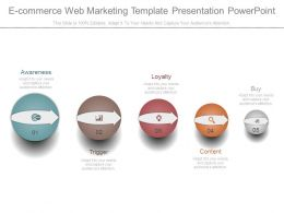 Ecommerce Web Marketing Template Presentation Powerpoint