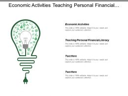 Economic Activities Teaching Personal Financial Literacy Functions Property