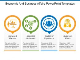 Economic And Business Affairs Powerpoint Templates