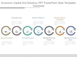 Economic Capital And Solvency Ppt Powerpoint Slide Templates Download
