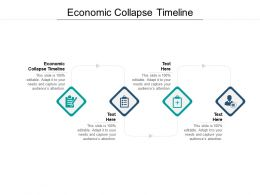 Economic Collapse Timeline Ppt Powerpoint Presentation Inspiration Icon Cpb