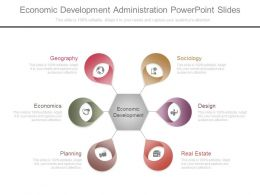 Economic Development Administration Powerpoint Slides