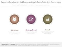 Economic Development And Economic Growth Powerpoint Slide Design Ideas