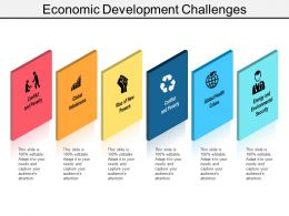 Economic Development Challenges Ppt Examples Slides