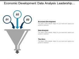 Economic Development Data Analysis Leadership Development Business Portfolio Cpb