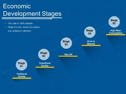 Economic Development Stages Ppt Inspiration