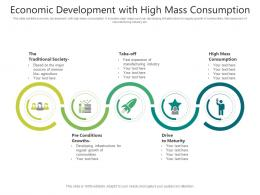Economic Development With High Mass Consumption
