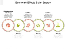 Economic Effects Solar Energy Ppt Powerpoint Presentation Icon Format Ideas Cpb