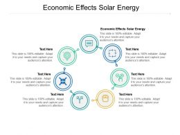 Economic Effects Solar Energy Ppt Powerpoint Presentation Outline Cpb