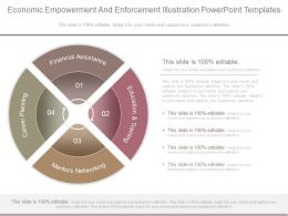 Economic Empowerment And Enforcement Illustration Powerpoint Templates