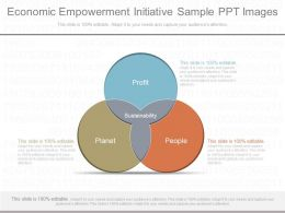 Economic Empowerment Initiative Sample Ppt Images