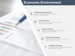 Economic Environment Competitive Environment Ppt Powerpoint Presentation Layouts Gallery