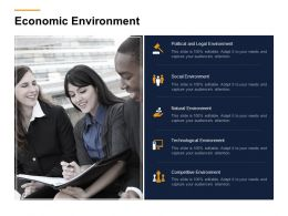 Economic Environment Ppt Powerpoint Presentation Show Master Slide