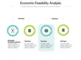 Economic Feasibility Analysis Ppt Powerpoint Presentation Infographics Example Cpb