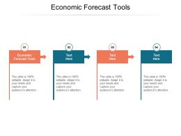 Economic Forecast Tools Ppt Powerpoint Presentation File Summary Cpb