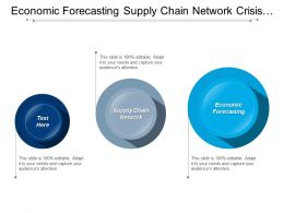 Economic Forecasting Supply Chain Network Crisis Management Planning Cpb