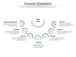Economic Globalization Ppt Powerpoint Presentation Ideas Vector Cpb