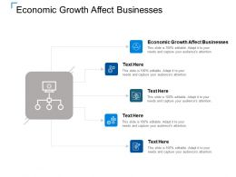 Economic Growth Affect Businesses Ppt Powerpoint Presentation Summary Infographic Template Cpb