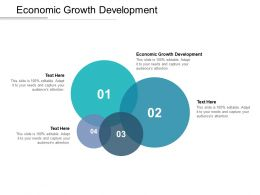 Economic Growth Development Ppt Powerpoint Presentation Icon Sample Cpb