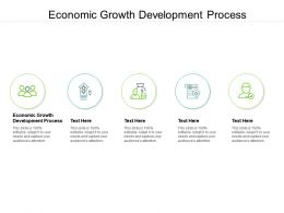 Economic Growth Development Process Ppt Powerpoint Presentation Styles Files Cpb
