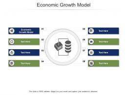 Economic Growth Model Ppt Powerpoint Presentation Inspiration Good Cpb