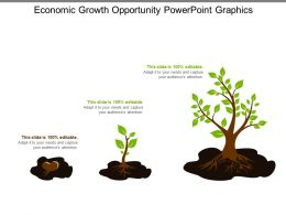 Economic Growth Opportunity Powerpoint Graphics