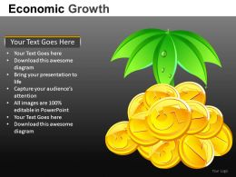 Economic Growth Powerpoint Presentation Slides db