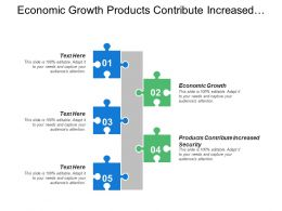 Economic Growth Products Contribute Increased Security Social Contributions