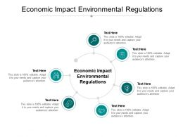 Economic Impact Environmental Regulations Ppt Powerpoint Presentation Ideas Cpb