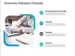 Economic Indicators Forecast Ppt Powerpoint Presentation Show Slide Portrait Cpb